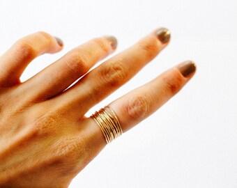 Whisper Stacker Ring