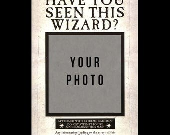 Personalised Harry Potter Have You Seen This Wizard or Witch ? ( Wanted Poster )