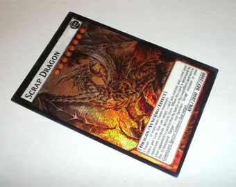 Scrap Dragon yugioh secret rare orica proxy