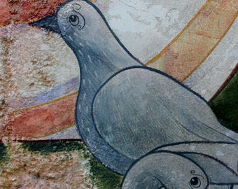 Pigeon Painting