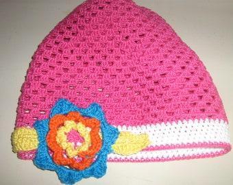 Cotton cap for girl