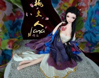 Clay Doll Lady Mei