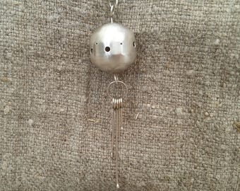 Sterling Silver Orb Necklace