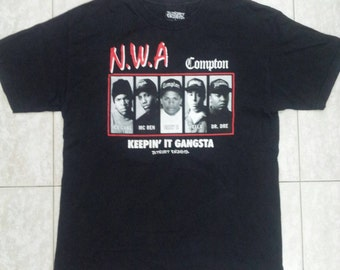 90s NWA COMPTON Tshirt Rap Hiphop Swag Newwave