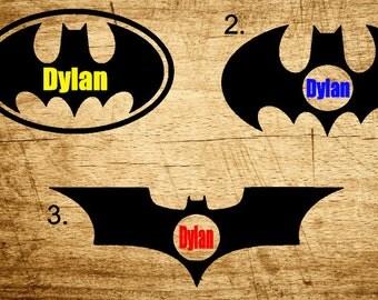 Batman Monogram Decals