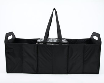 Sachi Foldable Trunk Organizer with Insulated Cooler Multi Colors available