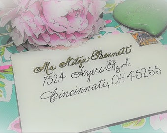 Handwritten Envelope for Birthdays, Weddings, Holidays and everything in between.