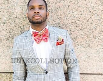 Paisley Brocade Bow Tie