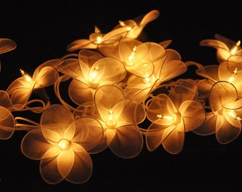 Flower string lights Etsy