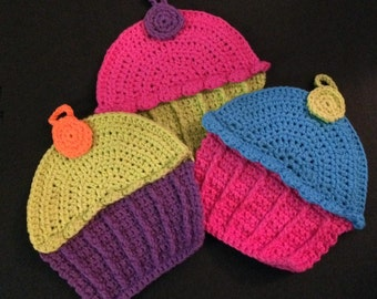 Cupcake Dish Cloth