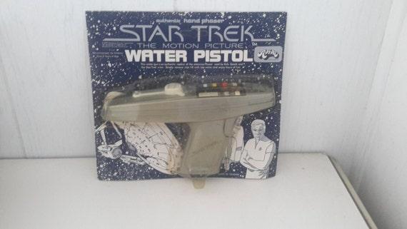 star trek the motion picture phaser water gun 1979 moc