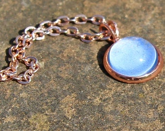 Moonstone Necklace - Rose Gold Necklace - Moonstone Jewellery - Rose Gold Jewellery - Jewellery Set