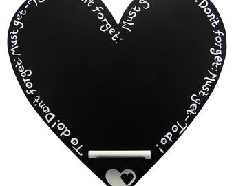 Blackboard, heart shaped blackboard, chalkboard,