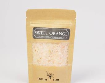Sweet Orange Bath Salts 100g