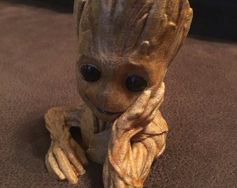 Baby Groot bust