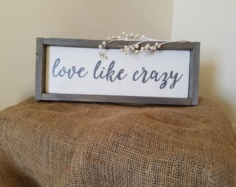 Love Like Crazy Lyrics By Lee Brice Vinyl Decal Wall Art