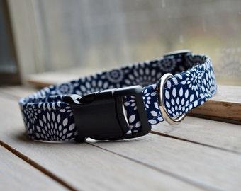 Navy Blue Dog Collar