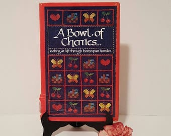 A Bowl of Cherries...Looking at Life Through Homespun Homilies Hardcover 1980 by Norene Firth, Inspirational Book, Collectible Books, Maxims