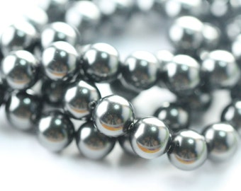 10 Pcs, Genuine Swarovski® 5811 10.0 Mm Crystal Black Pearl 298
