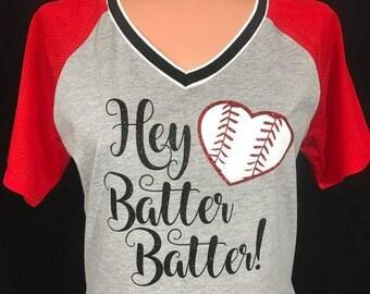 Glitter Baseball Tee