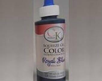 Royal Blue Gel Color