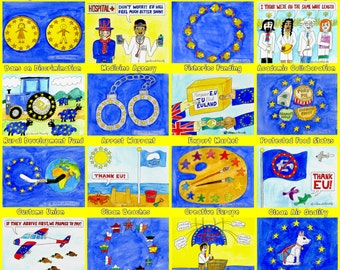 24 Reasons to Remain EU Poster
