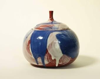 Large Painterly Jar