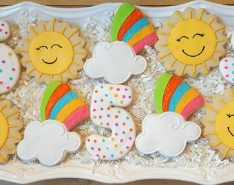 You are My Sunshine Cookies Party Favors