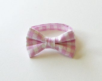 Collar with bow tie, Polka Dott