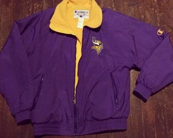 Vintage Champion Minnesota Vikings Jacket