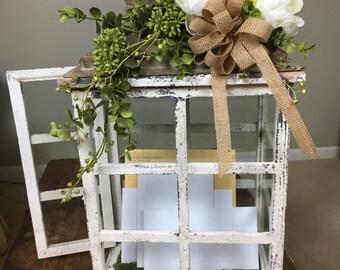 Wedding Reception Card Box - Wedding Card Holder - Wedding Card Holder for Receptions - Wedding Decor - Reception Decor  - Rustic Wedding