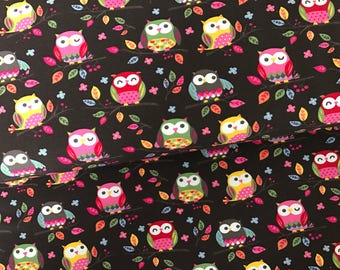 0,5M Jersey * owls Brown * by little Darling