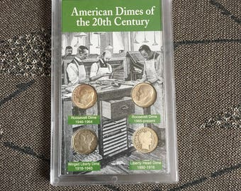 American Dimes of 20th Century