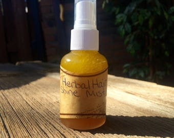 Herbal Hair Shine Spray • Leave in Conditioning Treatment