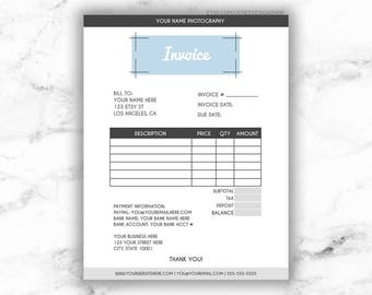 Invoice template etsy pronofoot35fo Gallery