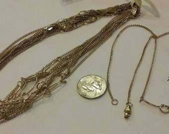 """Retro 1980's, Old Stock, Vintage, Necklace, High Quality 18""""  T2721"""