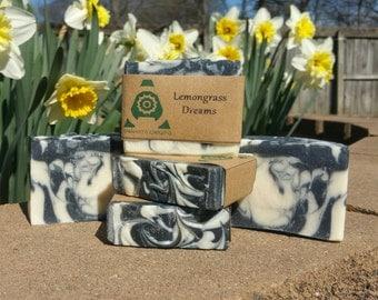 LemonGrassDreams Shea Butter Handmade  Bar Soap