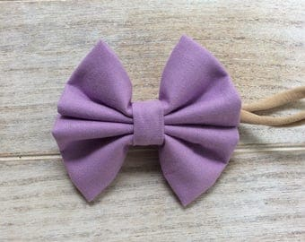 Purple Lilac bow