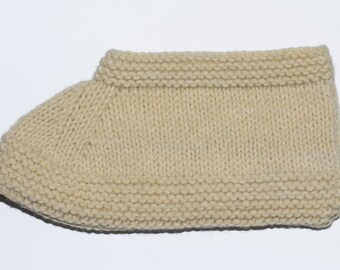 Beautiful and warm knit socks