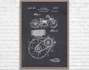 Motorcycle Poster, Motorcycle Patent, Indian Motorcycle, Indian Motorcycle Poster, Indian Motorcycle Patent, Motorcycle Art