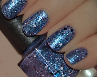 Wicked Ways - Blue Multicolored Glitter Nail Polish LIMITED EDITION