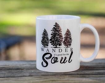 Coffee Mugs | Wander Mug |Custom Coffee Mugs | Funny Mugs | Quote Mugs