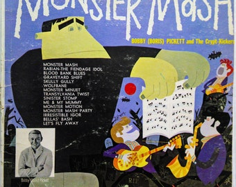 Bobby Pickett Original Monster Mash 60's Rock Lp Mono Garpax