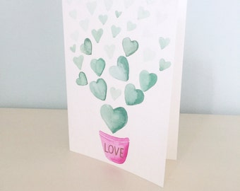 Love Grows and Grows Card
