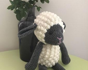 Sydney the Sheep - handmade crochet