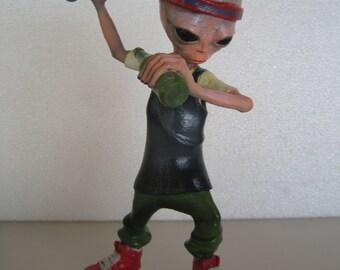 Ayy LMAO Lil Mayo alien figure Trap Dab