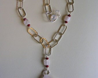 Diamond zen necklace