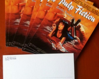 Pulp Fiction Postcards - A Set of 10 - Promotions from the Cannes Film Festival