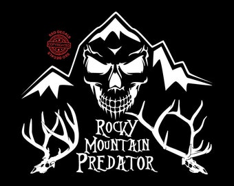 Rocky Mountain Hunting Predator Vinyl Decal