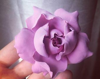 Brooches,Garden flower, Flowers, bridesmaid,wedding,Wedding Bouquet, Flowers, Wedding, Bride, Bridesmaid, Clay,Artificial Flower Arrangement